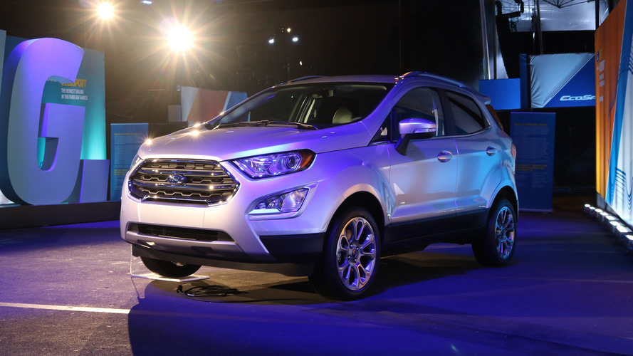 Ford EcoSport finally comes to North America