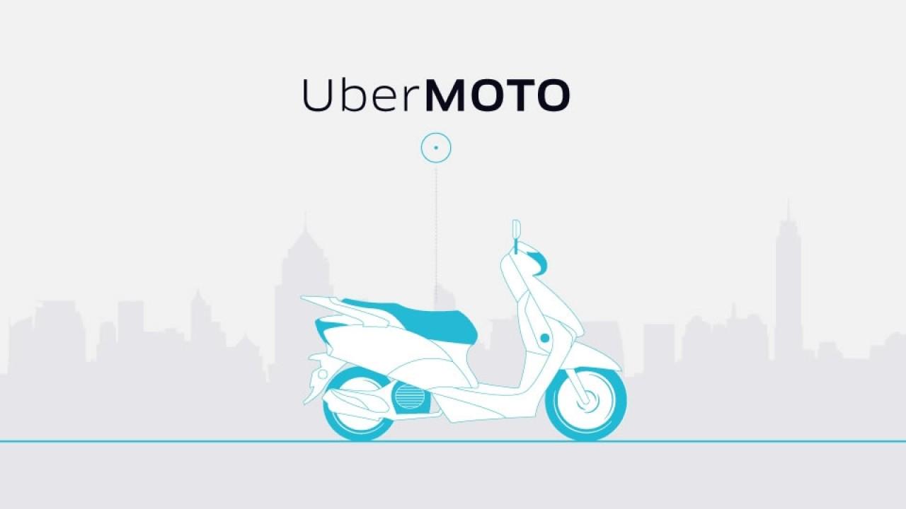 Uber lança nova modalidade de serviço de transporte por moto