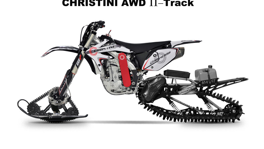 Christini AWD Snowtracker is the ultimate winter toy