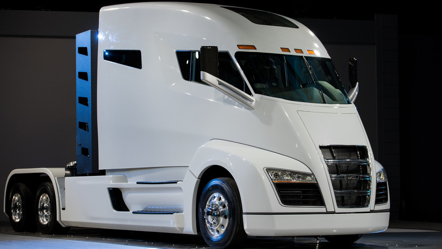 Nikola One hydrogen semi debuts with 1,000 hp, 1,200-mile range