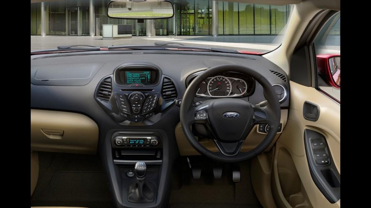 Ka+ encurtado: Ford vende mais de 15 mil unidades do Figo Aspire na Índia