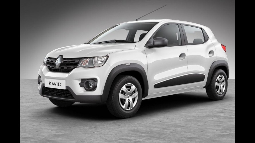 No Brasil em novembro, Renault Kwid já é o 5º carro mais vendido da Índia