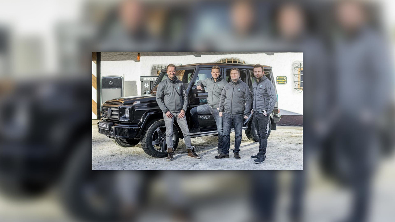 Electric Mercedes-Benz G-Class
