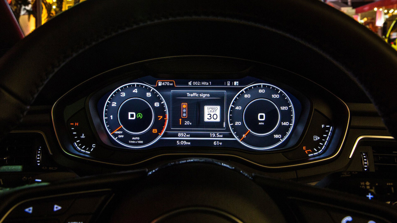 Audi Traffic Light Information display