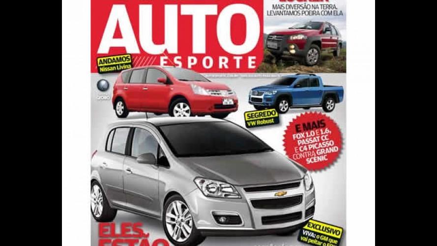 Revista AutoEsporte mostra projeção do sucessor do Corsa: Chevrolet Viva