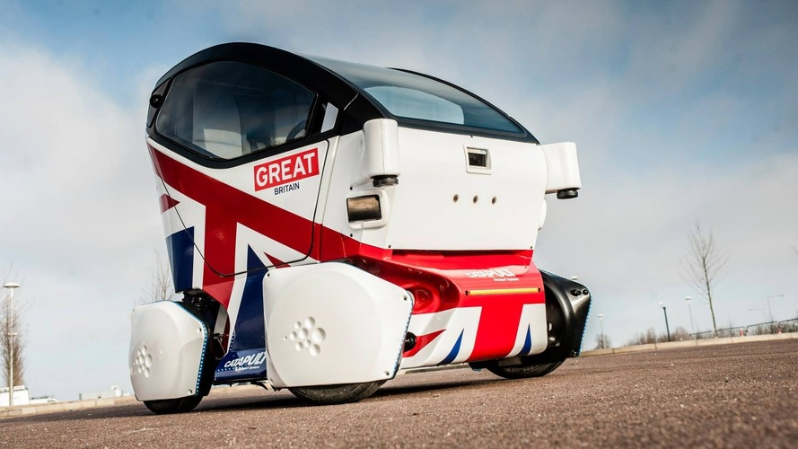 Self-driving cars begin testing on UK streets for first time