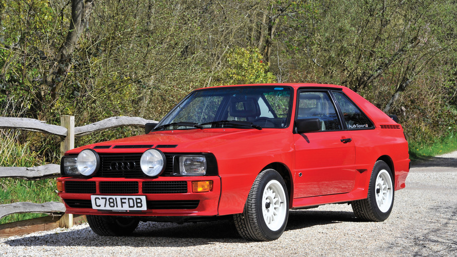 Audi quattro 1986 : Adjugée pour la somme de...