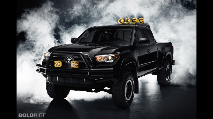 Toyota Tacoma Back to the Future Concept