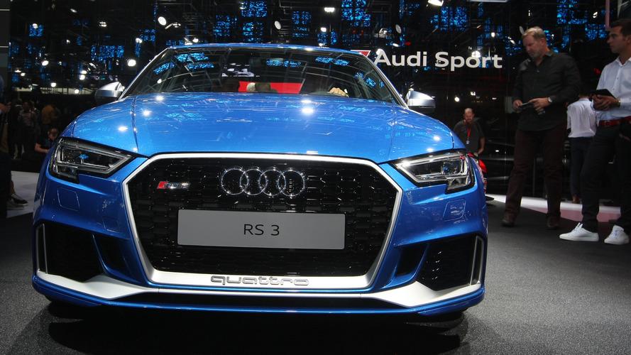 Audi RS3 2017 Mondial de l'Automobile