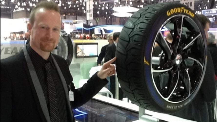 Salone di Ginevra: Goodyear ci racconta il pneumatico che verrà