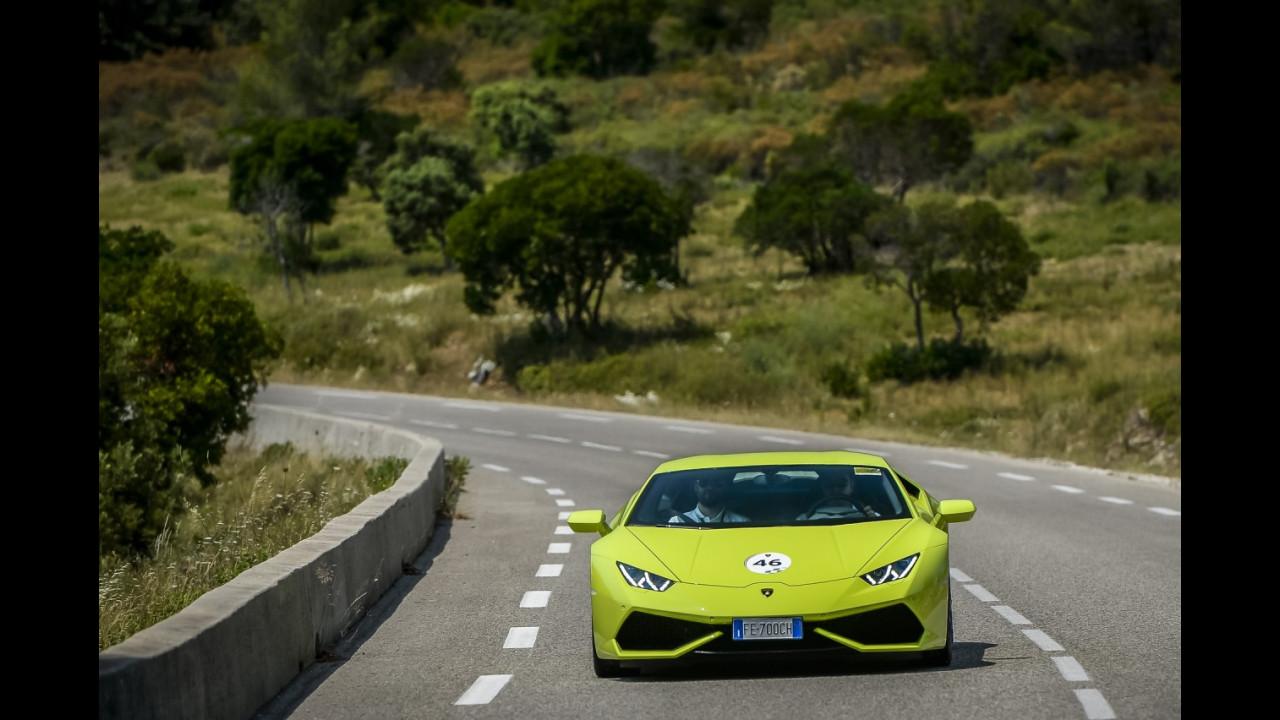 Con Lamborghini e Ducati al Paul Ricard