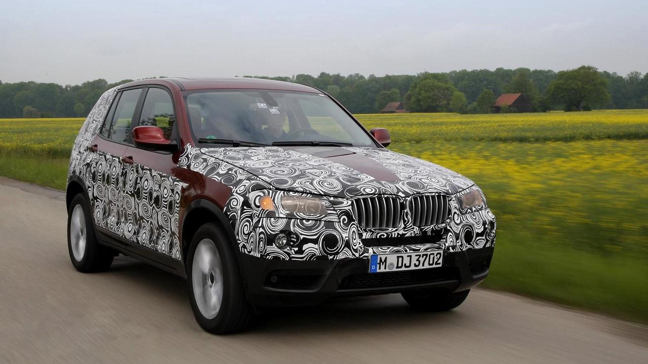 pre production 2011 BMW X3