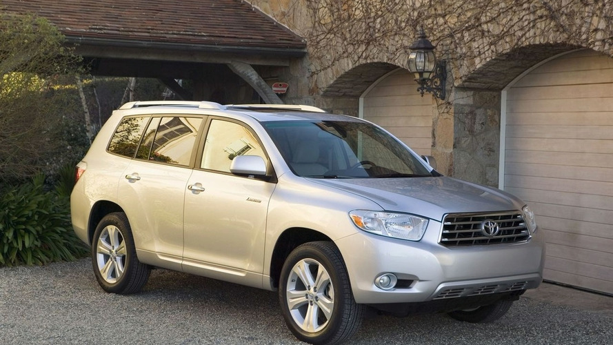 Toyota Announce All-New Four Cylinder Engine For 2009 Toyota Highlander