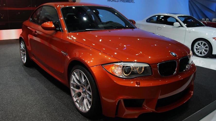 2012 BMW 1-Series M Coupe revs up Detroit