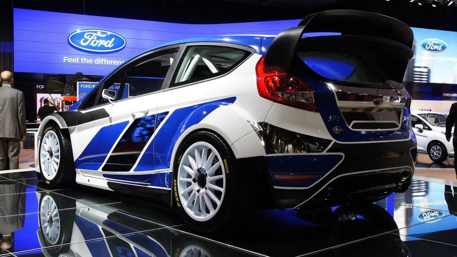 Ford Fiesta WRC unleashed