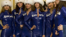 Grid Girls: Bavaria Moscow City Racing event 2009