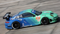 911 GT3 RSR, Team Falken Tire: Bryan Sellers, Wolf Henzler, Patrick Pilet, American Le Mans Series, round 1 in Sebring, USA, qualifying, 19.03.2010