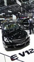 BRABUS E V12 Coupe with 800PS Pounds into Geneva