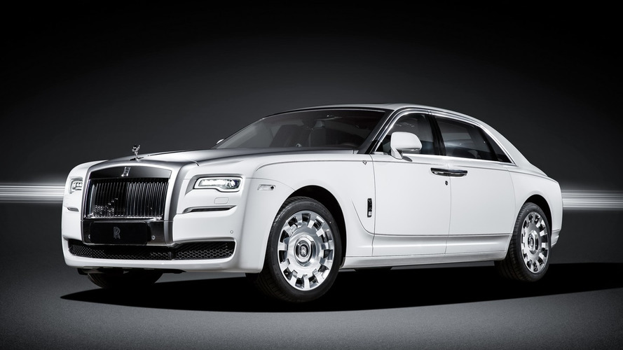 Rolls-Royce has Eternal Love for China with special Ghost