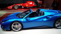 Ferrari 488 Spider live in Frankfurt 2015
