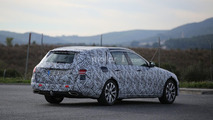 Camouflaged Mercedes E Class Estate hides the obvious