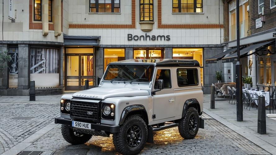 Land Rover Defender 2,000,000 to be exhibited at Bonhams London