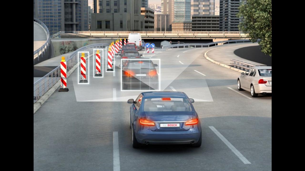 Bosch automotive press briefing 2013