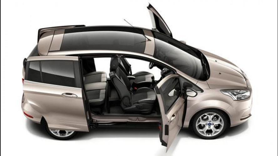 Ford B-Max, avviata la produzione in Romania