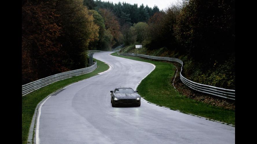 Mercedes SLS AMG: i primi passi