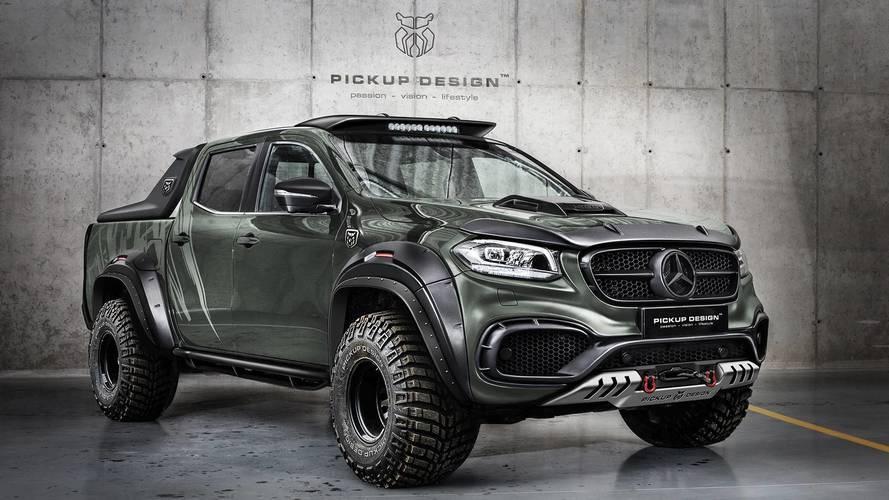 Ce Mercedes Classe X est prêt pour l'apocalypse