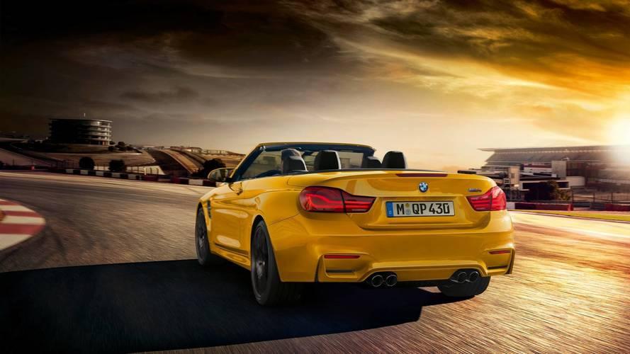 BMW M4 Convertible'a 30. yıl özel versiyonu geldi