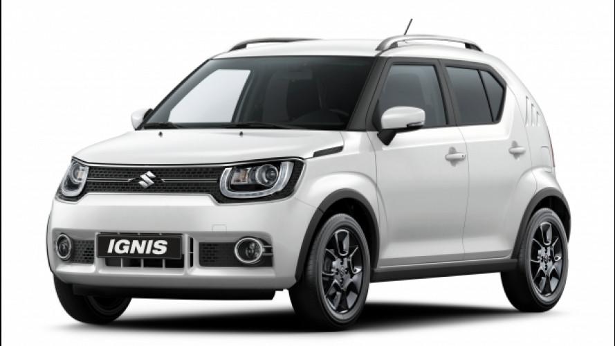 Suzuki Ignis, più crossover che mai