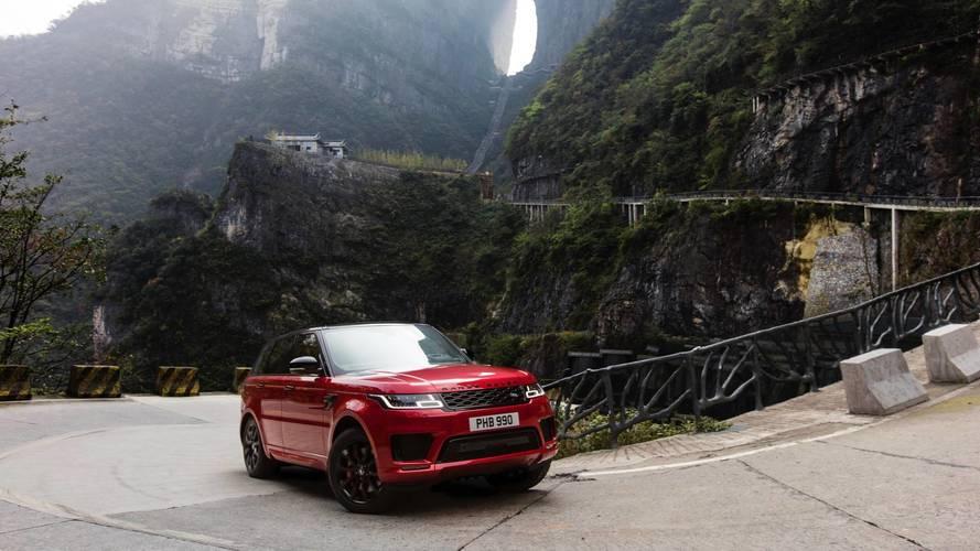 Range Rover Sport PHEV sobe o Heaven's Gate