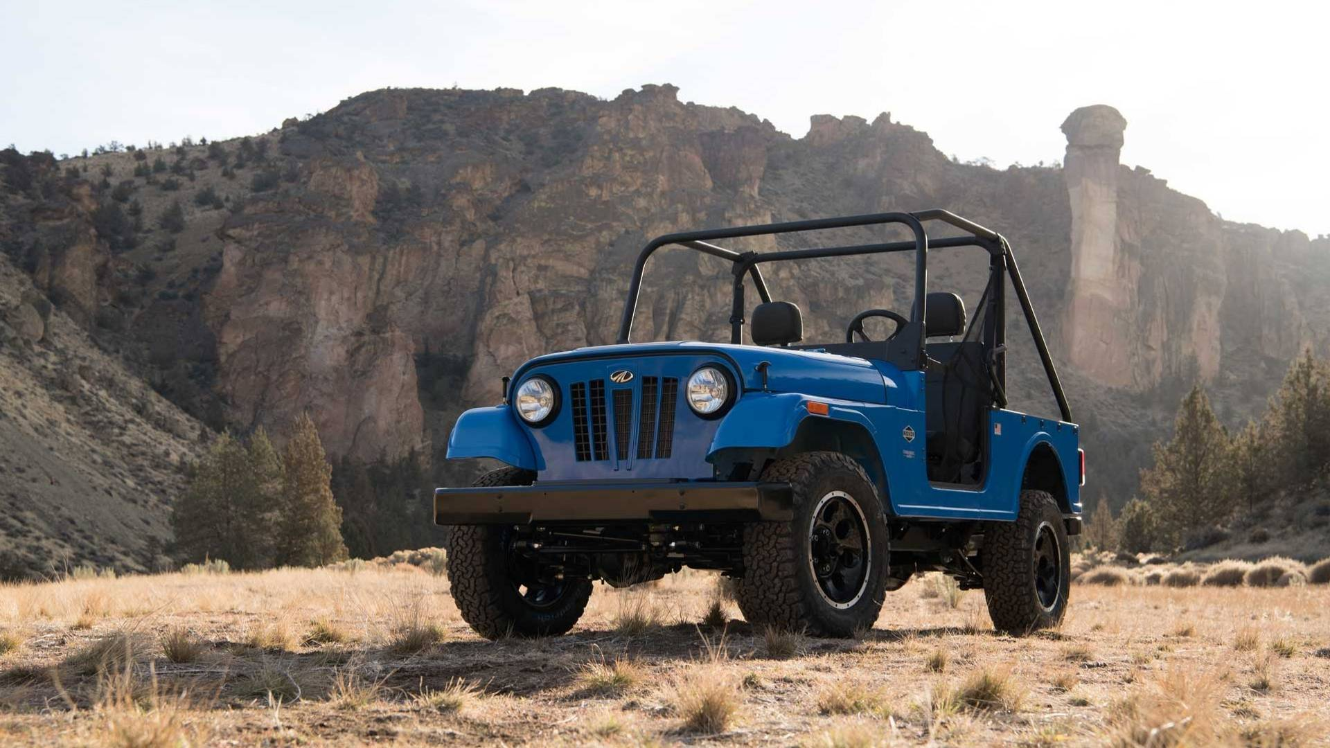 Mahindra Roxor Channels Original Jeep CJ Is Made In The U S A