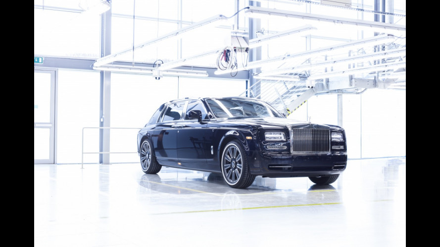 Rolls-Royce Phantom, l'ultima è davvero speciale