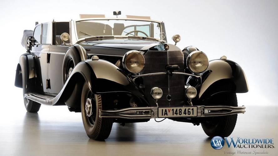 Adolf Hitler'in kullandığı Mercedes-Benz Grosser açık artırmada