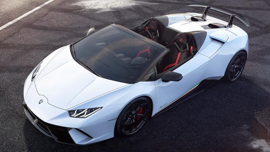 Lamborghini Huracán Performante Spyder, velocissima anche senza il tetto