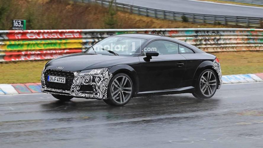 Makyajlı Audi TT Nürburgring'de yakalandı