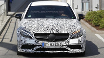 2016 Mercedes-AMG C63 Coupe spy photo