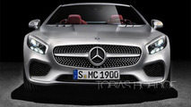 2016 Mercedes-Benz SL facelift render