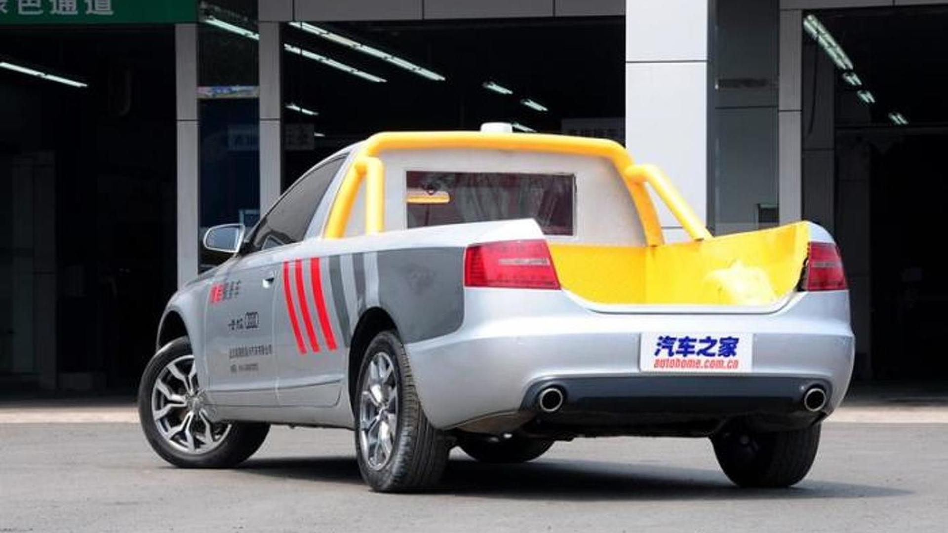 Самодельный пикап Audi A6