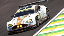 Aston Martin Vantage GTE with prototype solar power system