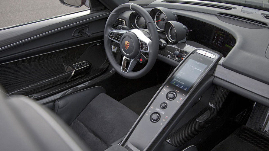 Porsche 918 Spyder to have an HTML-based infotainment system - report