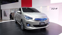 Mitsubishi G4 Compact Sedan Concept at 2013 Auto Shanghai