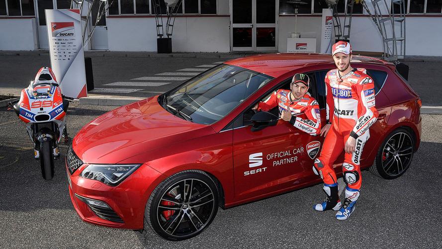 MotoGP - SEAT s'attire les services d'Andrea Dovizioso et de Jorge Lorenzo