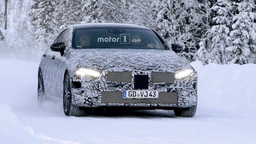 2018 Mercedes CLS new spy images