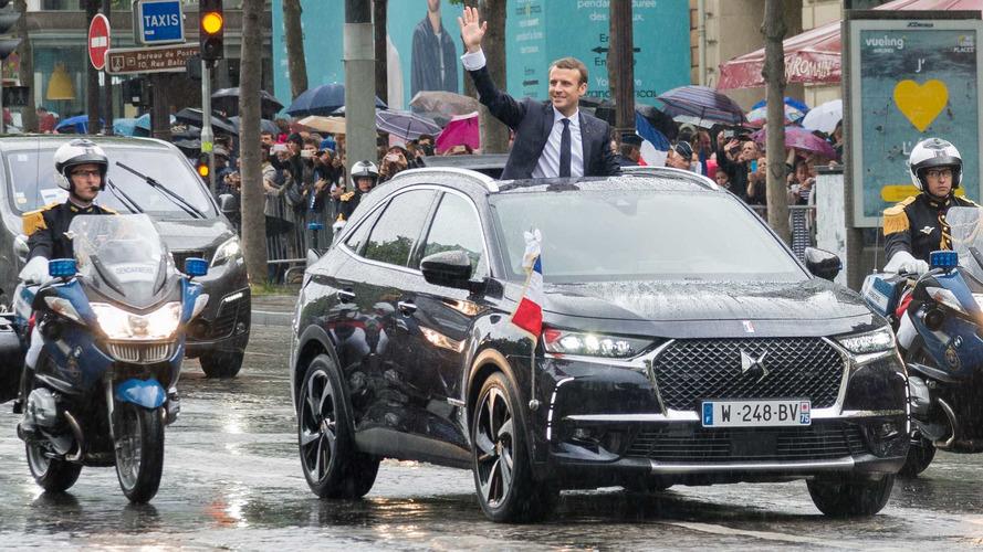 DS7 Fransa'nın yeni başkanlık aracı oldu