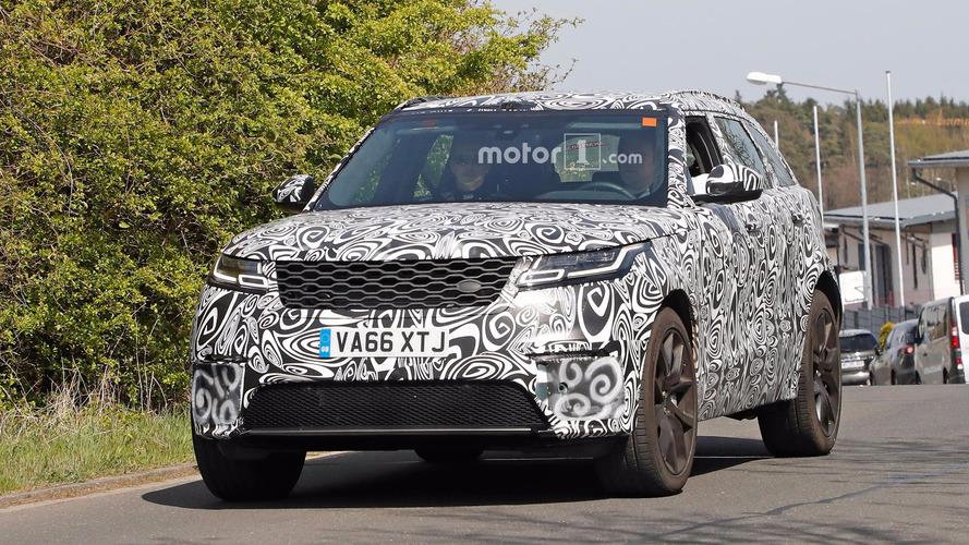 Land Rover Range Rover Velar SVR Photos espion