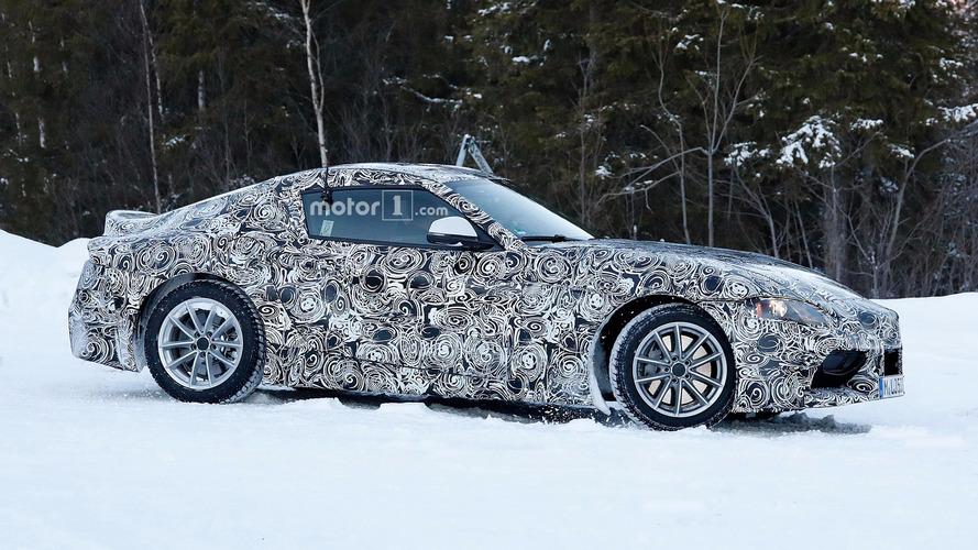 Toyota Supra ve BMW Z5 casus fotoğraflar