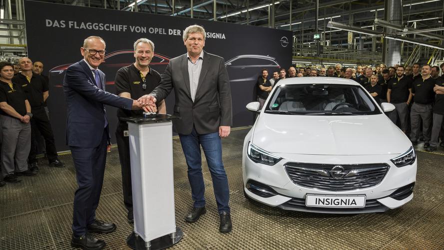 Opel, 2017 Insignia'nın üretimini başlattı